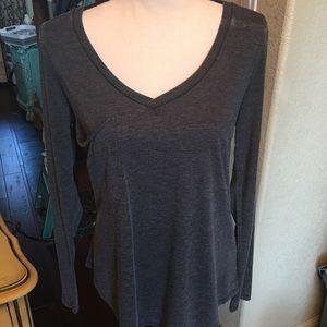Z supply black long sleeved T-shirt